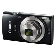 "Фотоаппарат Canon IXUS 185 черный 20Mpix Zoom8x 2.7"" 720p SD CCD 1x2.3 IS el 1minF 0.8fr/s 25fr/s/NB-11LH"