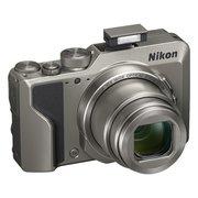 "Фотоаппарат Nikon CoolPix A1000 серебристый 16Mpix Zoom35x 2.7"" 4K 81Mb SDXC"