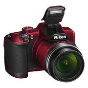 "Фотоаппарат Nikon CoolPix B600 красный 16Mpix Zoom60x 3"" 1080p SDXC"