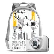 "Фотоаппарат Nikon CoolPix W150 белый 13.2Mpix Zoom3x 2.7"" 1080p 21Mb SDXC"