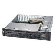 Корпус SuperMicro CSE-825MBTQC-R802LPB 2x800W черный
