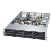 Корпус SuperMicro CSE-826BAC4-R1K23WB 2x1200W черный
