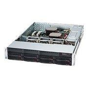"Корпус Supermicro (CSE-825TQC-R1K03LPB) 8x 3.5"" Hot-swap SAS3/ SATA Drive Bays & 2x Fixed 3.5"" Drive Bays, 1000W Redundant PWS, SAS3(12 Gbps)"