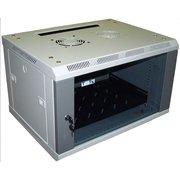 Шкаф коммутационный Lanmaster Pro TWT-CBW2-15U-6X4 серый 15U 600x450мм пер.дв.стекл 60кг