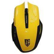 Мышь Jet.A Comfort OM-U54 Yellow (800/1200/1600/2400dpi, 5 кнопок, USB)