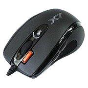 Мышь A4Tech X-710MK Black, 2000dpi, 6but, USB, оптическая