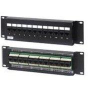 """Патч-панель Molex PID-00234-04 19"""" 1U 24xRJ45 кат.5e UTP"""