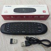 Беспроводная клавиатура/мышь RU для android TV DVS AM-100
