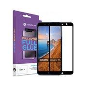 Защитное стекло 2.5D Full Cover+Full Glue для Xiaomi Redmi 7A чёрный н/с