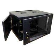 Шкаф коммутационный Lanmaster Next TWT-CBWNG-15U-6X6-BK 15U 550x600мм пер.дв.стекл 60кг черный