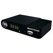 Ресивер World Vision T65 (Ali3821, T2., с дисп) DVB-T2