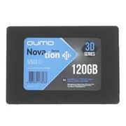 "Накопитель SSD 120GB QUMO Novation TLC 3D (Q3DT-120GPBN) 2,5""/7 mm R/W 560/540 PS3111 OEM"