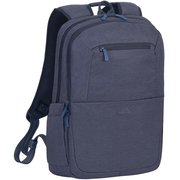 """Рюкзак для ноутбука 15.6"""" Riva 7760 синий полиэстер"""