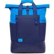 "Рюкзак для ноутбука 15.6"" Riva 5321 синий полиуретан"