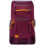 """Рюкзак для ноутбука 17.3"""" Riva 5361 красный полиуретан"""