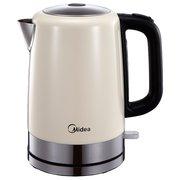 Чайник электрический Midea MK-8055 сливовый/серебристый