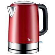 Чайник электрический Midea MK-8054 красный/серебристый
