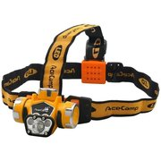 Фонарь налобный AceCamp Extreme оранжевый/черный 1Вт (1035)