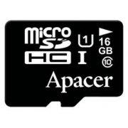 Карта памяти Apacer microSDHC 16GB UHS-I Class10 (R/W 45/10 MB/s) (AP16GMCSH10U1-RA)