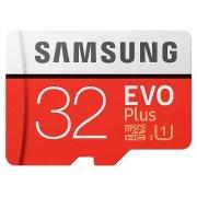 Карта памяти Samsung microSDHC 32GB EVO Plus Class10 UHS-I, w/adapter (MB-MC32GA/RU)