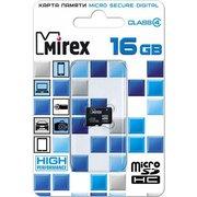 Карта памяти Mirex microSD 16GB Class 4 (13612-MCROSD16)