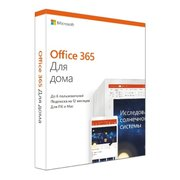 Программное обеспечение MICROSOFT Office 365 Home Russian Medialess (6GQ-00960)