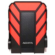 "Внешний HDD Adata DashDrive Durable HD710 Pro (AHD710P-1TU31-CRD) 2.5"" 1TB USB3.1 прорезиненный, черный/красный Waterproof/Dustproof/Shockproof, военный"