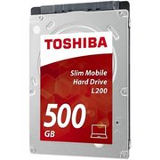 "HDD Toshiba Slim Mobile L200 (HDWK105UZSVA) (HDWK105) 2,5"" 500GB 5400rpm Sata3 8MB 7 mm"