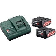 Батарея аккумуляторная Metabo Basic-Set 12V + SC30 12В 2Ач Li-Ion (ЗУ в компл.) (685300000)