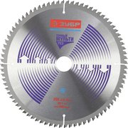 Пильный диск по алюминию Зубр Точный-Мульти рез усиленный (36907-255-30-80) d255мм (цирк. пилы)