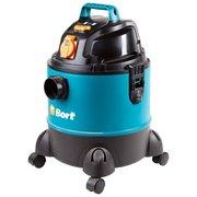 Строительный пылесос Bort BSS-1220-Pro синий