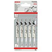 Набор пилок по дереву Bosch T101D HCS 5пред. (лобзики)