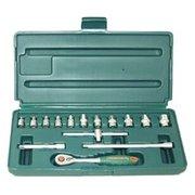 Набор инструментов Jonnesway S04H2715S 15 предметов (жесткий кейс)