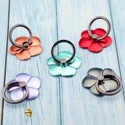 Popsocket-кольцо цветок металлик