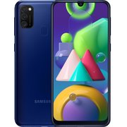 Смартфон Samsung SM-M215F Galaxy M21 2020 64Gb Blue (SM-M215FZBUSER)