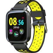 "Смарт-часы Jet Sport SW-5 52мм 1.44"" OLED черный (SW-5 Yellow)"