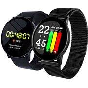 """Смарт-часы Smarterra SmartLife UNO 1.3"""" TFT черный (SM-SLUNOB)"""