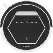 Пылесос-робот Kitfort КТ-553 черный/белый