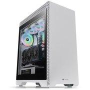 Корпус Thermaltake S500 TG CA-1O3-00M6WN-00 белый без БП ATX 1x120mm 1x140mm 2xUSB2.0 2xUSB3.0 audio bott PSU