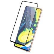 Защитное стекло для экрана Redline mObility черный для Samsung Galaxy A80 3D 1шт (УТ000019284)