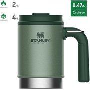 Термокружка Stanley The Big Grip Camp Mug (10-01693-025) 0.47л. зеленый