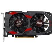 Видеокарта ASUS GeForce GTX1050Ti Cerberus (CERBERUS-GTX1050TI-A4G) 4GB 128bit GDDR5 (1303-1442/7008) DVI-D/HDMI-2.0b/DP-1.4