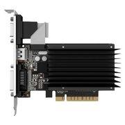 Видеокарта PALIT GeForce GT730 Silent (NEAT7300HD46-2080H) 2GB 64bit GDDR3 (800/1804) D-SUB/DVI/HDMI