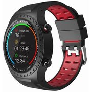 Смарт-часы GEOZON Sprint G-SM02BLKR Black/Red