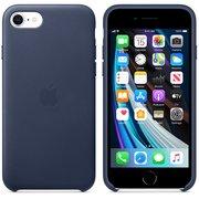 Чехол для iPhoneSE Leather Case (MXYN2ZM/A) Midnight Blue