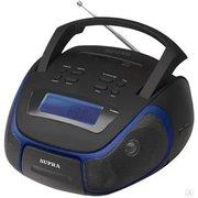 Аудиомагнитола Supra BB-23MUS черный