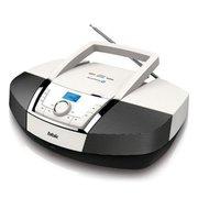 Аудиомагнитола BBK BX519BT белый/черный