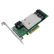 Контроллер Adaptec SmartHBA 2100-24i (2301600-R) PCI Express 3.0 x8, SAS-3 12 Гб/с, 6хSFF8643 internal