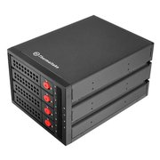 Сменный бокс для HDD/SSD Thermaltake Max 3504 (ST-007-M31STZ-A2) SATA I/II/III/SAS металл черный