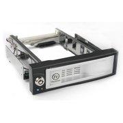 "Сменный бокс для HDD Thermaltake Max4 N0023SN SATA II пластик/сталь серебристый hotswap 3.5"""